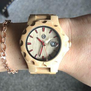 Accessories - Wood watch!